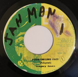 GREGORY ISAACS - YOUR SMILING FACE