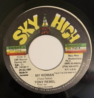TONY REBEL - MY WOMAN