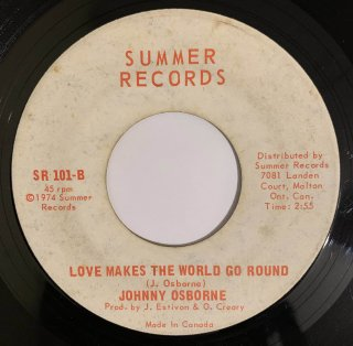 JOHNNY OSBOURNE & BUNNY BROWN - LOVE MAKES THE WORLD GO ROUND