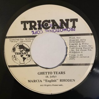 MARCIA RHODEN - GHETTO TEARS