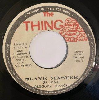 GREGORY ISAACS - SLAVE MASTER
