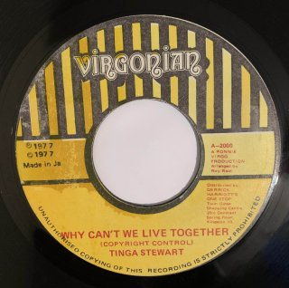 TINGA STEWART - WHY CAN'T WE LIVE TOGETHER