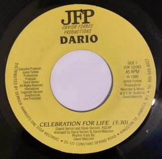 DARIO - CELEBRATION FOR LIFE