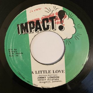 JIMMY LONDON - A LITTLE LOVE