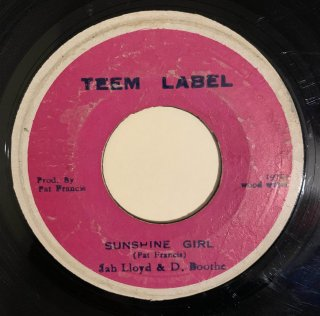 JAH LLOYD & D BOOTHE - SUNSHINE GIRL