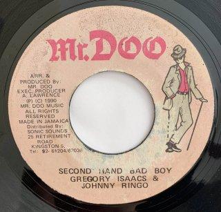 GREGORY ISAACS & JOHNNY RINGO - SECOND HAND BAD BOY