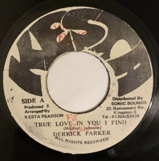 DERRICK PARKER - TRUE LOVE IN YOU I FIND