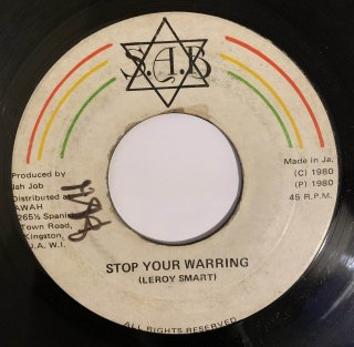 LEROY SMART - STOP YOUR WARRING