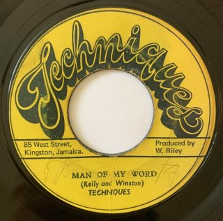TECHNIQUES - MAN OF MY WORD