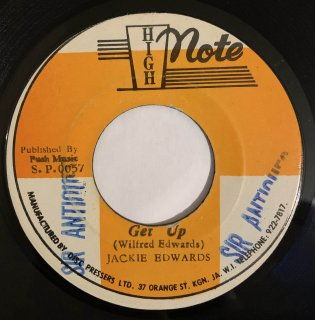 JACKIE EDWARDS - GET UP