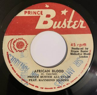 RAYMOND HARPER - AFRICAN BLOOD