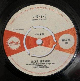 JACKIE EDWARDS - LOVE