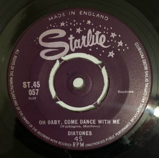 DIATONES - OH BABY COME DANCE WITH ME