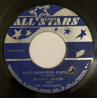AUBREY ADAMS - WEST KINGSTON EXPRESS