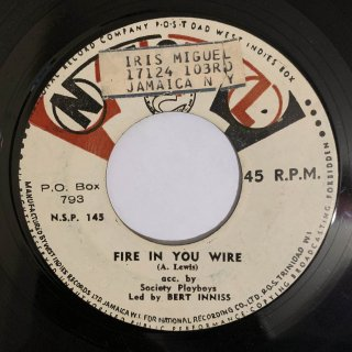 BERT INNIS - FIRE IN YOU WIRE