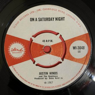 JUSTIN HINDS - ON A SATURDAY NIGHT