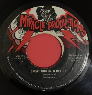 BOSTON JACK - GREAT GOD OVER IN ZION