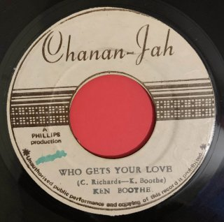 KEN BOOTHE - WHO GETS YOUR LOVE