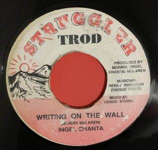 INGEL CHANTA - WRITING ON THE WALL