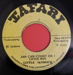 LITTLE IANROCK - JAH CAN COUNT ON I