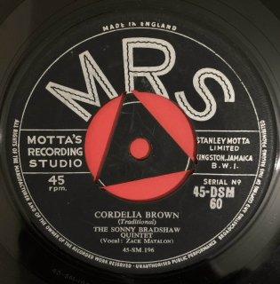 SONNY BRADSHAW - CORDELIA BROWN