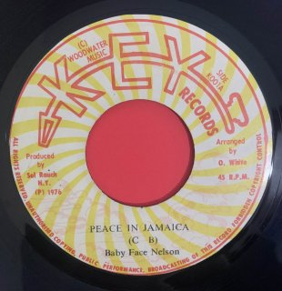 BABY FACE NELSON - PEACE IN JAMAICA