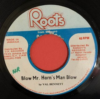 VAL BENNETT - BLOW MR HORNS MAN BLOW