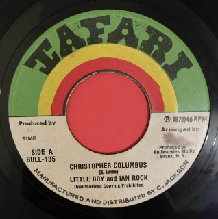 LITTLE ROY & IAN ROCK - CHRISTOPHER COLUMBUS
