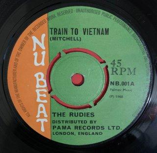 THE RUDIES - TRAIN TO VIETNAM