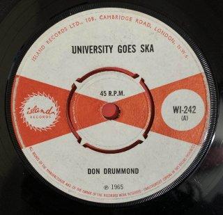 DON DRUMMOND - UNIVERSITY GOES SKA