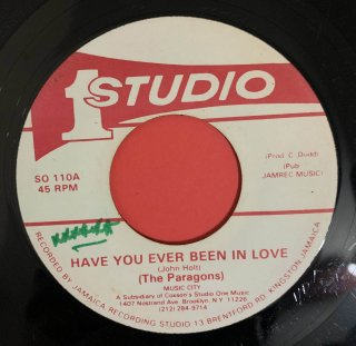 PARAGONS - HAVE YOU EVER BEEN IN LOVE