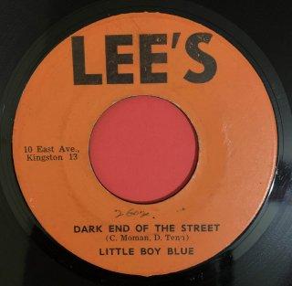 LITTLE BOY BLUE - DARK END OF THE STREET