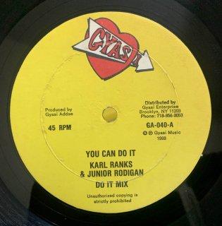 KARL RANKS & JUNIOR RODIGAN - YOU CAN DO IT
