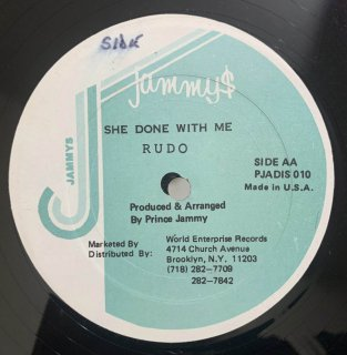 RUDO - SHE DONE WITH ME