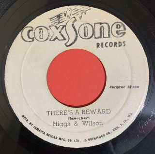HIGGS & WILSON - THERE'S A REWARD