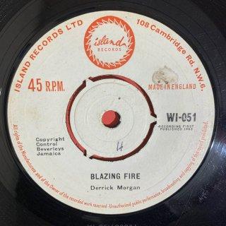 DERRICK MORGAN - BLAZING FIRE