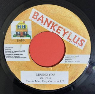 BEENIE MAN & TONY CURTIS & ARP - MISSING YOU