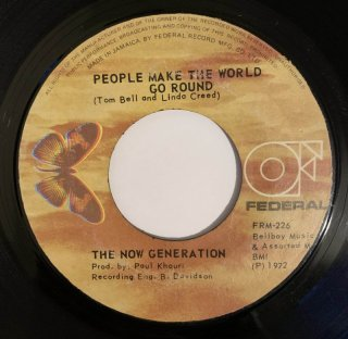 THE NOW GENERATION - PEOPLE MAKE THE WORLD