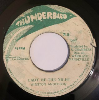 WINSTON ANDERSON - LADY OF THE NIGHT