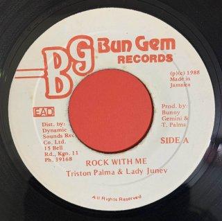 TRISTON PALMER & LADY JUNEY - ROCK WITH ME