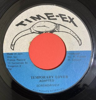 SCREWDRIVER - TEMPORARY LOVER