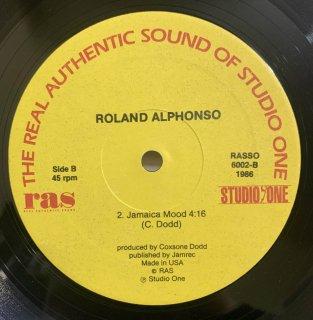 ROLAND ALPHONSO - JAMAICA MOOD