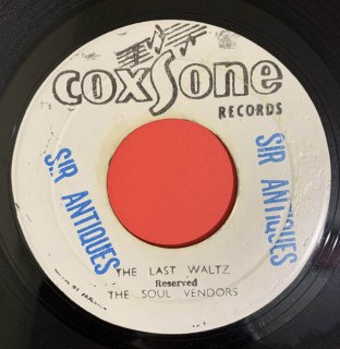 SOUL VENDORS - THE LAST WALTZ