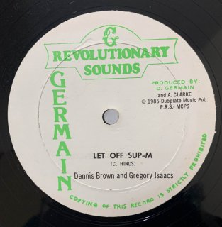 DENNIS BROWN & GREGORY ISAACS - LET OFF SUP-M