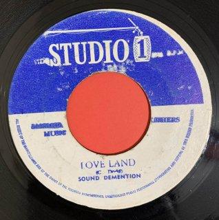 SOUND DIMENSION - LOVE LAND