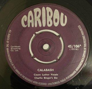 COUNT LASHER - CALABASH
