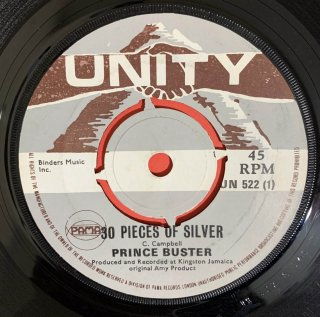 PRINCE BUSTER - 30 PIECES OF SILVER