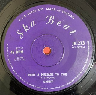 DANDY - RUDY A MESSAGE TO YOU