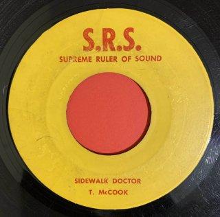 TOMMY MCCOOK - SIDEWALK DOCTOR