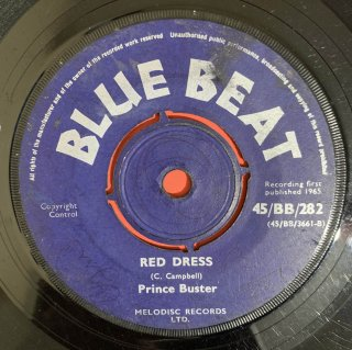 PRINCE BUSTER - RED DRESS